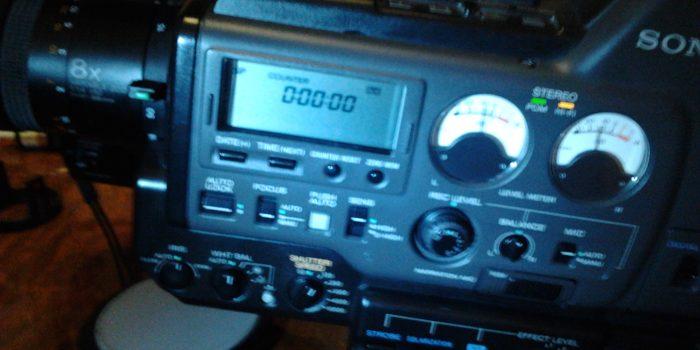 Reparierte Sony CCD-V5000E