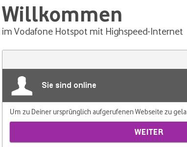 Vodafone Hotspot-Flat: Ein Testbericht